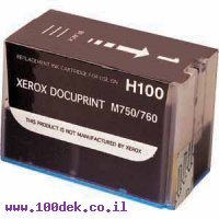 ראש שחור דקופרינט H100 XEROX מקורי