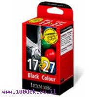 ראשי לקסמרק שחור+צבע 17+27 מקורי