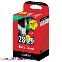 ראשי לקסמרק שחור+צבע 28+29 מקורי