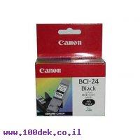 דיו  מילויים  S300 BCI24BK שחור  CANON מקורי
