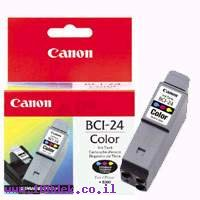 ראש דיו מילוי צבעוני BCI 24C S300CANON מקורי
