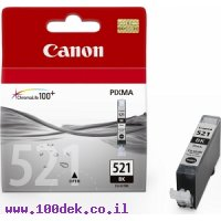 מילוי קנון שחור IP-4600 מס' CLI-521BK  מקורי