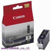 מילוי שחור  4200IP מ' BK 5-CLI CANON מקורי