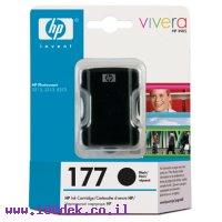 מילוי דיו HP 177 שחור C8719HE 8253 HC מקורי