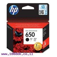 דיו למדפסת HP CZ101AE/650 שחור - מקורי