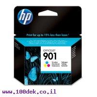 דיו למדפסת HP CC656AA/901 צבעוני - מקורי