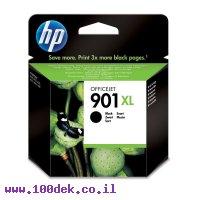 דיו למדפסת HP CC654AE/901XL שחור - מקורי