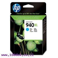 דיו למדפסת HP C4907AE/940XL כחול - מקורי