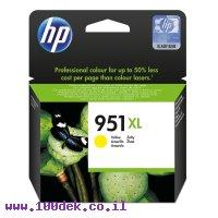 דיו למדפסת HP CN048AE/951XL צהוב - מקורי