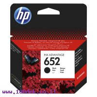 דיו למדפסת HP F6V25AE/652 שחור - מקורי