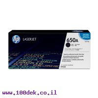 טונר HP CE270A/650A שחור - מקורי