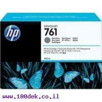 מילוי דיו מקורי HP 761 CR274A אפור כהה - שלישיה