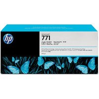 מילוי דיו מקורי HP 771 CR257A לייט אפור - שלישיה