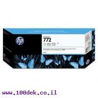 מילוי דיו מקורי HP 772 CN634A אפור לייט