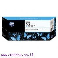 מילוי דיו מקורי HP 772 CN632A ציאן לייט