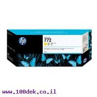 מילוי דיו מקורי HP 772 CN630A צהוב