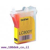 מילוי צהוב ברדר LC800-Y 3220 מקורי