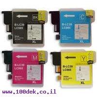 מילוי שחור ברדר LC985-BK MFC-J220 מקורי