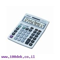 מחשבון שולחני CASIO DM-1200TM TAX
