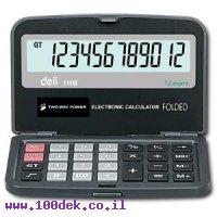 מחשבון כיס מתקפל DELI w 39228