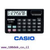 מחשבון כיס סולארי לחישוב תעריפים CASIO SL-787LT