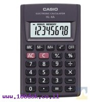 מחשבון כיס CASIO HL-4A