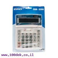 מחשבון שולחני ZIRO 5200 TAX
