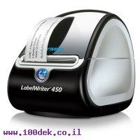 מדפסת מדבקות מהירה ללא צורך בדיו LW450 DYMO