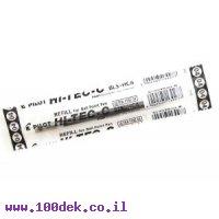 """מילוי לעט ג'ל פיילוט PILOT G-TEC-C4 עובי 0.4 מ""""מ - שחור"""