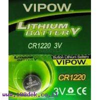 סוללה ליטיום CR1220 VIPOW  יחי 1