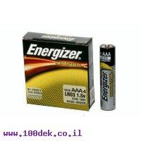 סוללה אלקלין  LR03 AAA ENERGIZER  יחידות 4