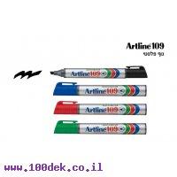 טוש לא מחיק 109 Artline (ארטליין) - אדום