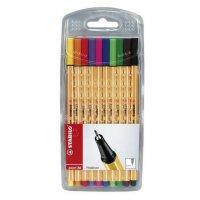 עט סטאבילו פוינט 88 /10 יחידות בסט