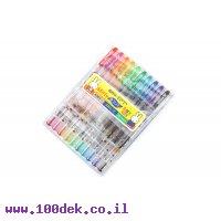סט של  10 צבעים  DONGA 0.4 פיינטק  בנרתיק