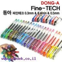 עט DONGA 0.4 פיינטק תכלת