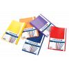 תמונה של מוצר תיק הגשה חצי שקוף, 20 יחידות - צבע מעורב