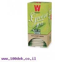 תה   ויסוצקי  ירוק   לימונית וגינגר      25 יחי