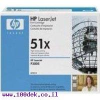 טונר 13K) HP M-3035) מקורי Q7551X