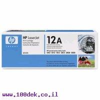 טונר HP 1010/1012 מקורי Q2612A
