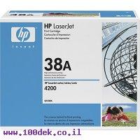 טונר HP 4200 מקורי Q1338A יח 2 טונרים