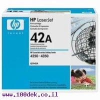 טונר HP 4250/4350 מקורי Q5942A