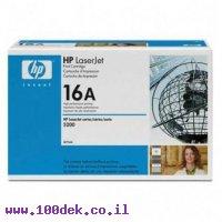טונר HP 5200 מקורי Q7516A
