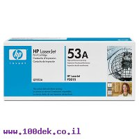טונר HP P2015 מקורי Q7553A