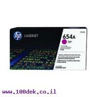 טונר HP מגנטה 654A לליזר CF333A M651 מקורי