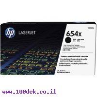 טונר HP שחור 654X לליזר CF330X M651 מקורי