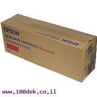טונר EPSON מגנטה C900 AcuL מקורי S050098 אפסון