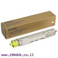 טונר EPSON צהוב C4000 AcuL מקורי S050088  אפסון