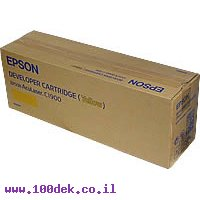 טונר EPSON צהוב C900 AcuL מקורי S050097 אפסון