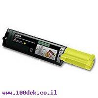 טונר צהוב EPSON C1100 Acul מקורי S050187 אפסון