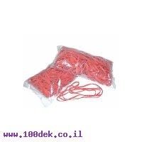 גומיות מס 20 שקית  500 גרם אדום